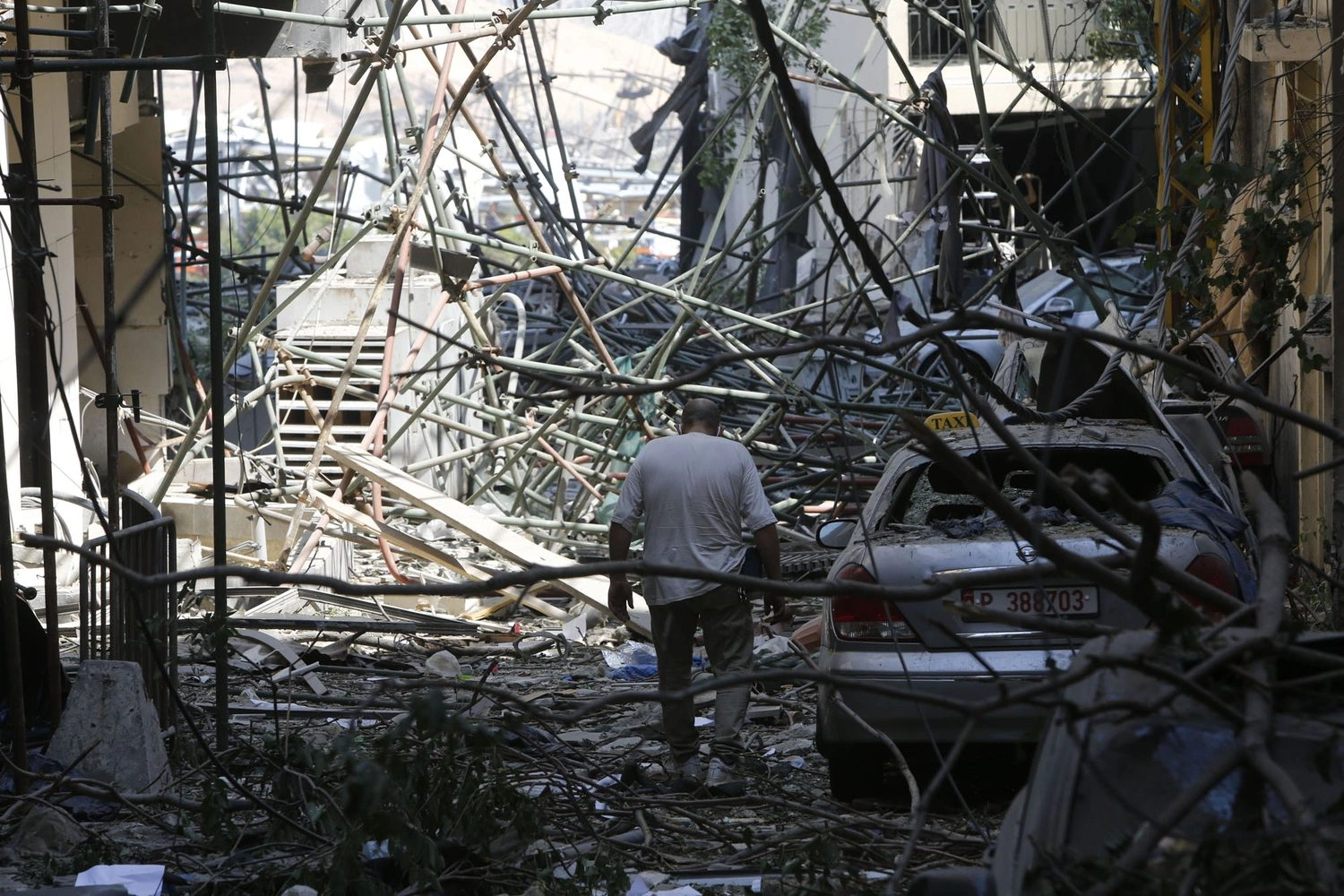 Aftermath Of Beirut Explosion, At Least 300,000 Homeless, 135 Dead