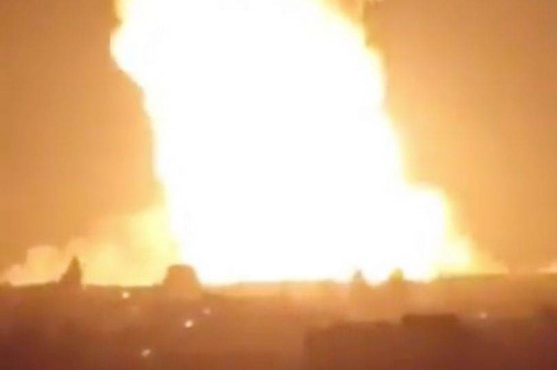 Gas Pipe Explosion In Syria Causes Blackout, Blamed On Terrorist Attack