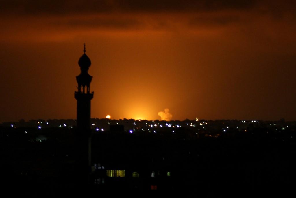 "IDF Strikes Hamas Targets In Gaza Following ""Historic"" Gulf Normalization Deal"