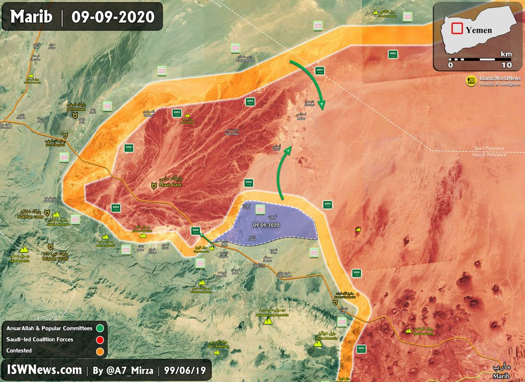 Saudi-backed Forces Suffer Another Setback In Yemen's Marib Province (Map Update)