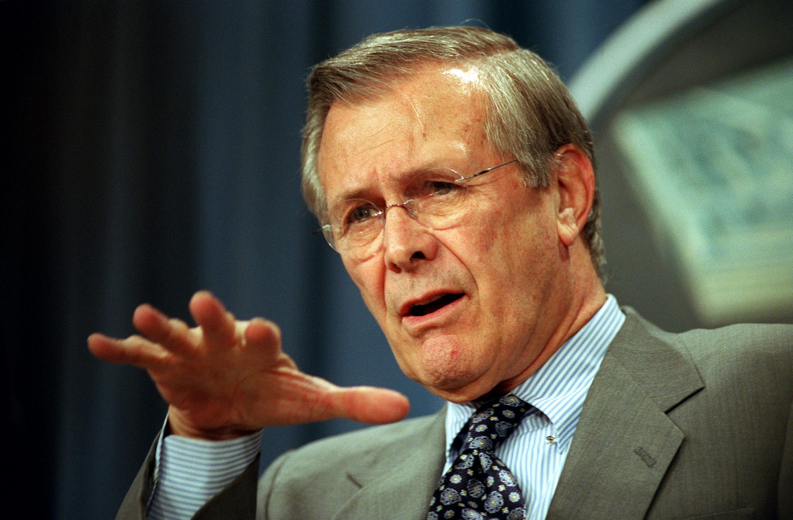 The Known Knowns of Donald Rumsfeld