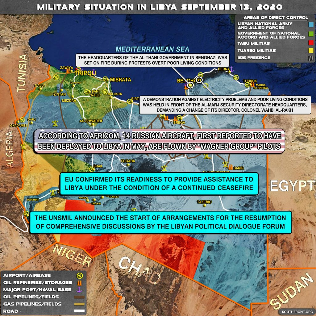 Military Situation In Libya On September 13, 2020 (Map Update)