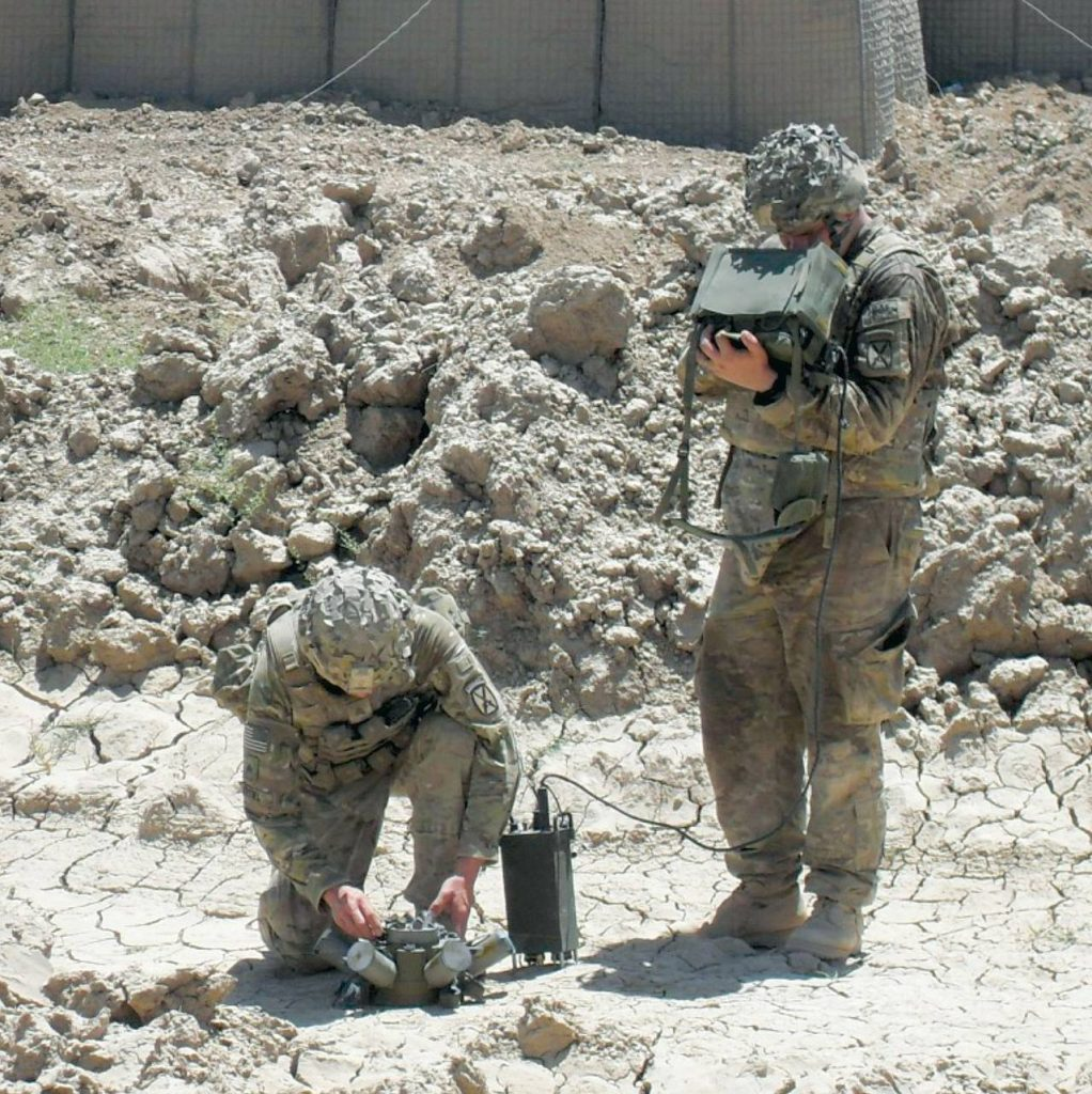 Use Of Anti-Personnel Mines By US Ground Forces