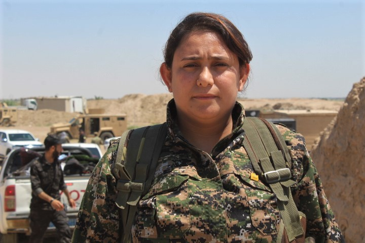 SDF Spokesperson Survived Another Assassination Attempt Claimed By Pro-Government Group (Photos)