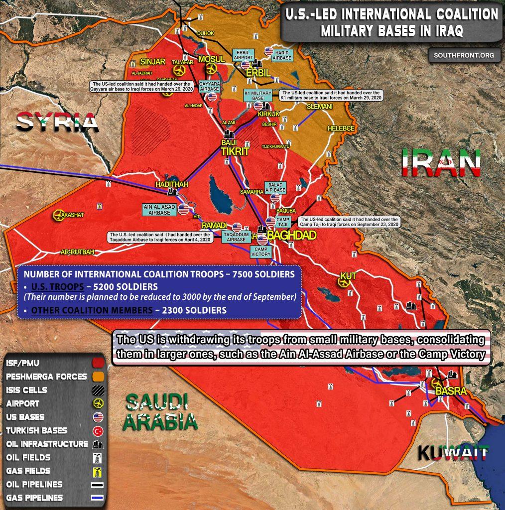 Rocket Strike Targeted U.S. Base In Iraqi's Erbil (Photos)