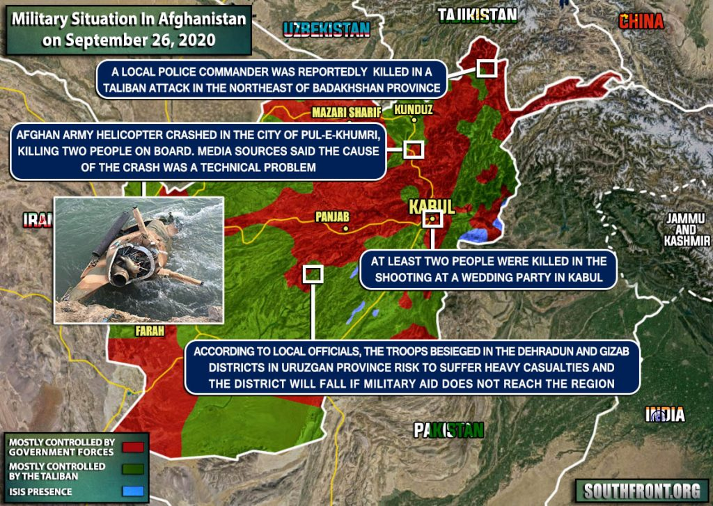 Afghan Army MD-530F Helicopter Crashed Into River (Photos, Map Update)