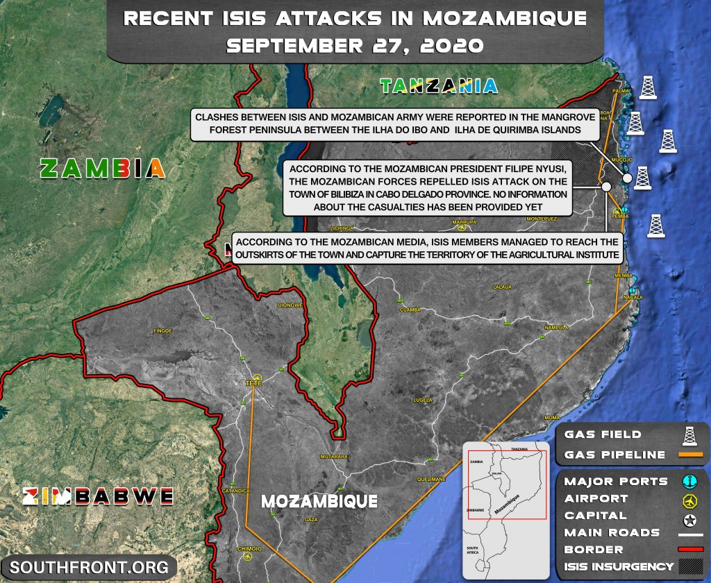 Mozambican Army Repelled ISIS Attack On Bilibiza Town In Cabo Delgado (Map Update)