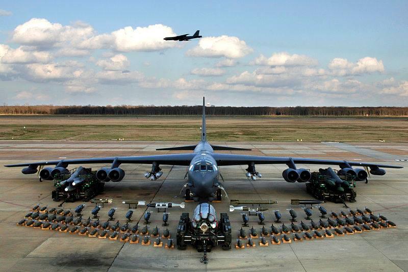 U.S. B-52H Strategic Bombers Fly Over Ukraine Again, As Lukashenko And Putin Meet In Sochi