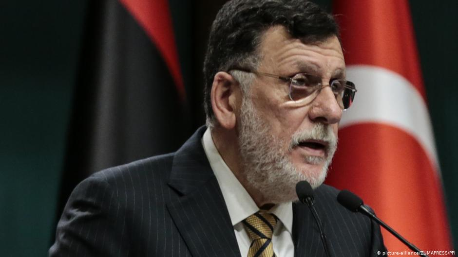 Libya's GNA PM Fayes Al-Sarraj Announces He Will Resign By End Of October