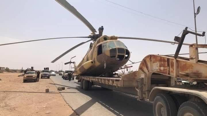 Turkish-backed Forces Captured Mi-8 Helicopter Of Libyan National Army (Photos, Map)