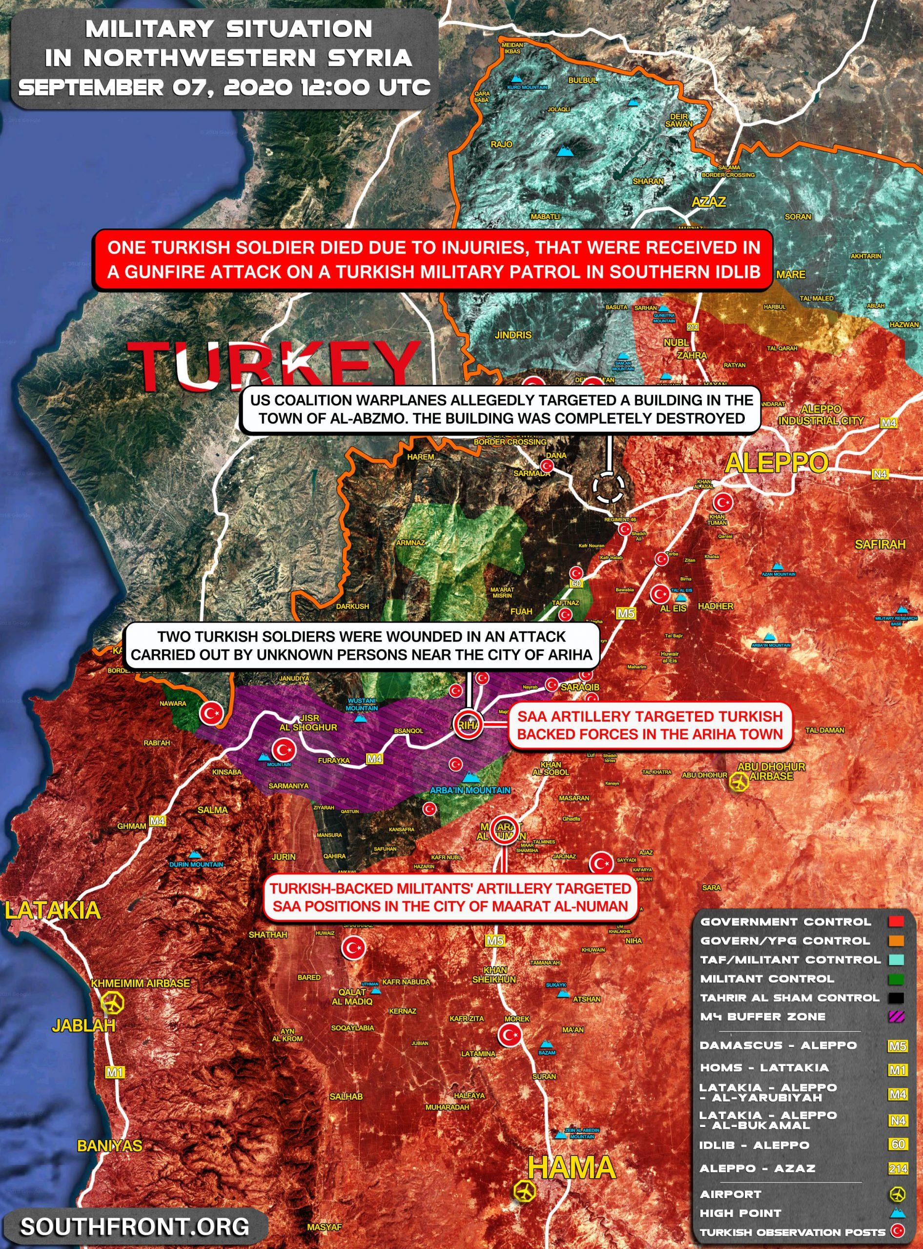 Turkish-backed Militants Shelled Syrian Army Troops Near Maarat al-Numan (Map Update)