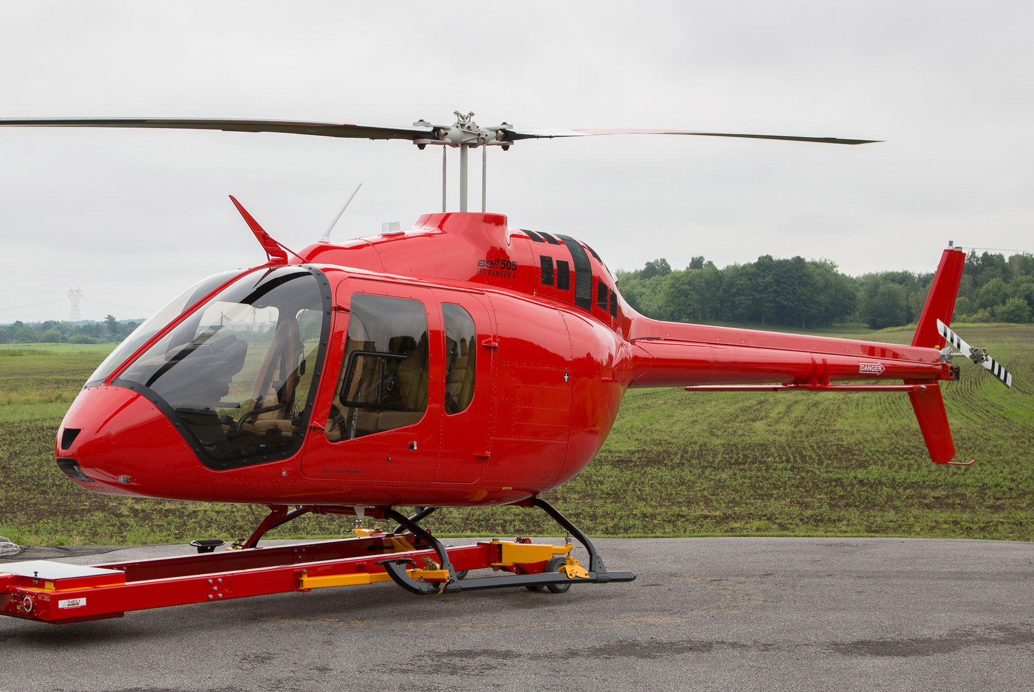 Bell's 505 Jet Ranger X Light Helicopter
