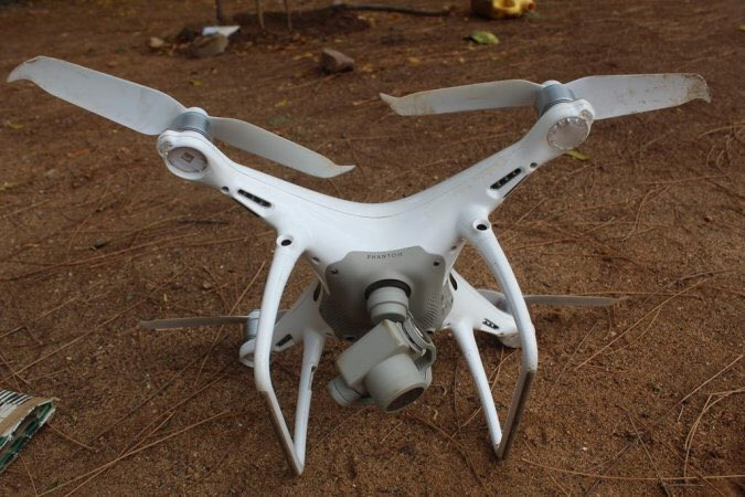 Modern U.S. Drone Crashed In Somalia (Photos)