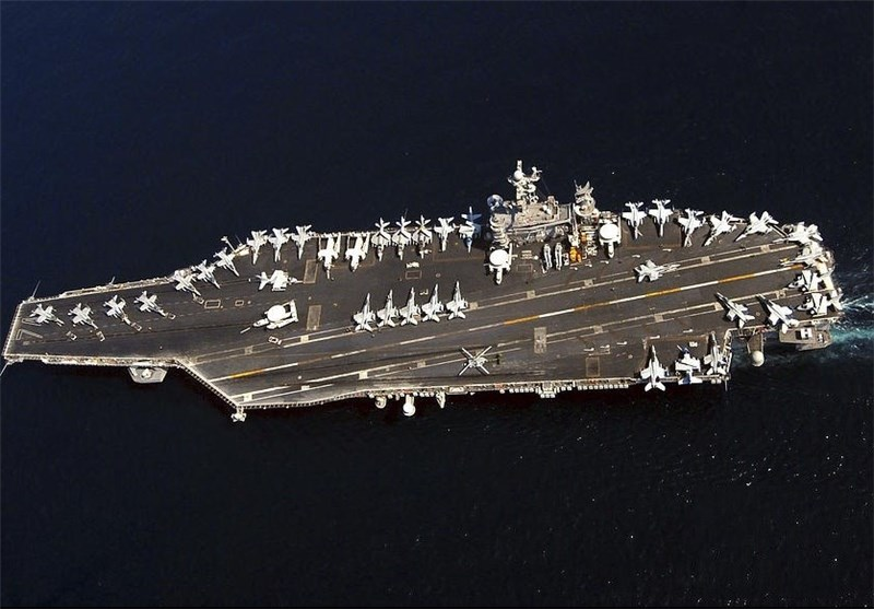 Iranian Drone Makes A Pass At USS Nimitz Somewhere In The Persian Gulf