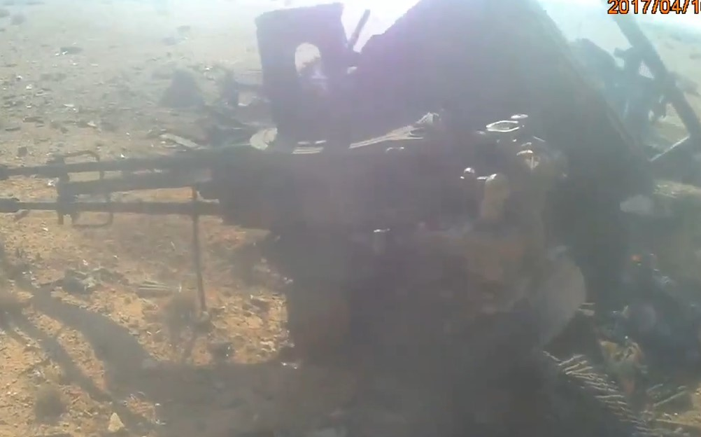 Face Of War: Multiple Dead ISIS Militants, Destroyed Equipment During 2017 Operation To Liberate Palmyra (WARNING 18+)