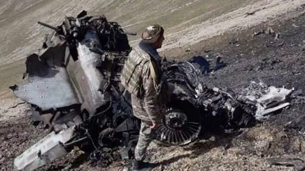 Armenia Released Photos Of Su-25 Allegedly Downed By Turkish F-16