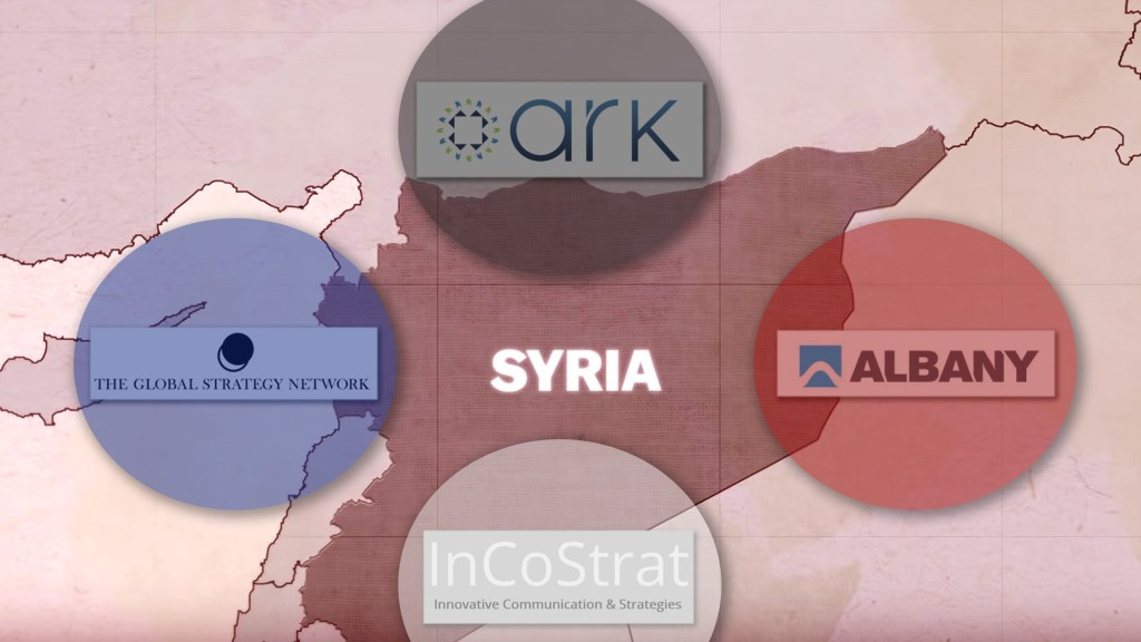 Leaked Documents Detail UK Government Contractors' Key Role In Media War Against Syria