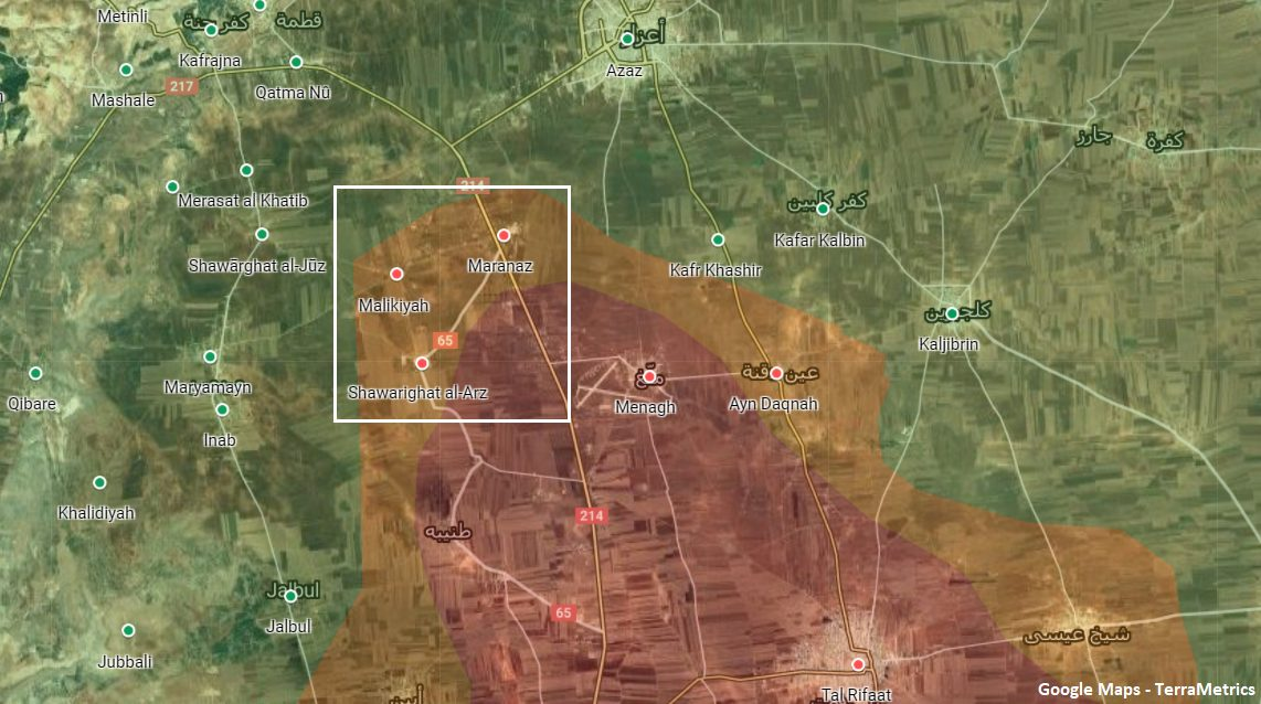 Turkish Artillery Strikes On Northern Aleppo: YPG, SAA-Held Towns Targeted