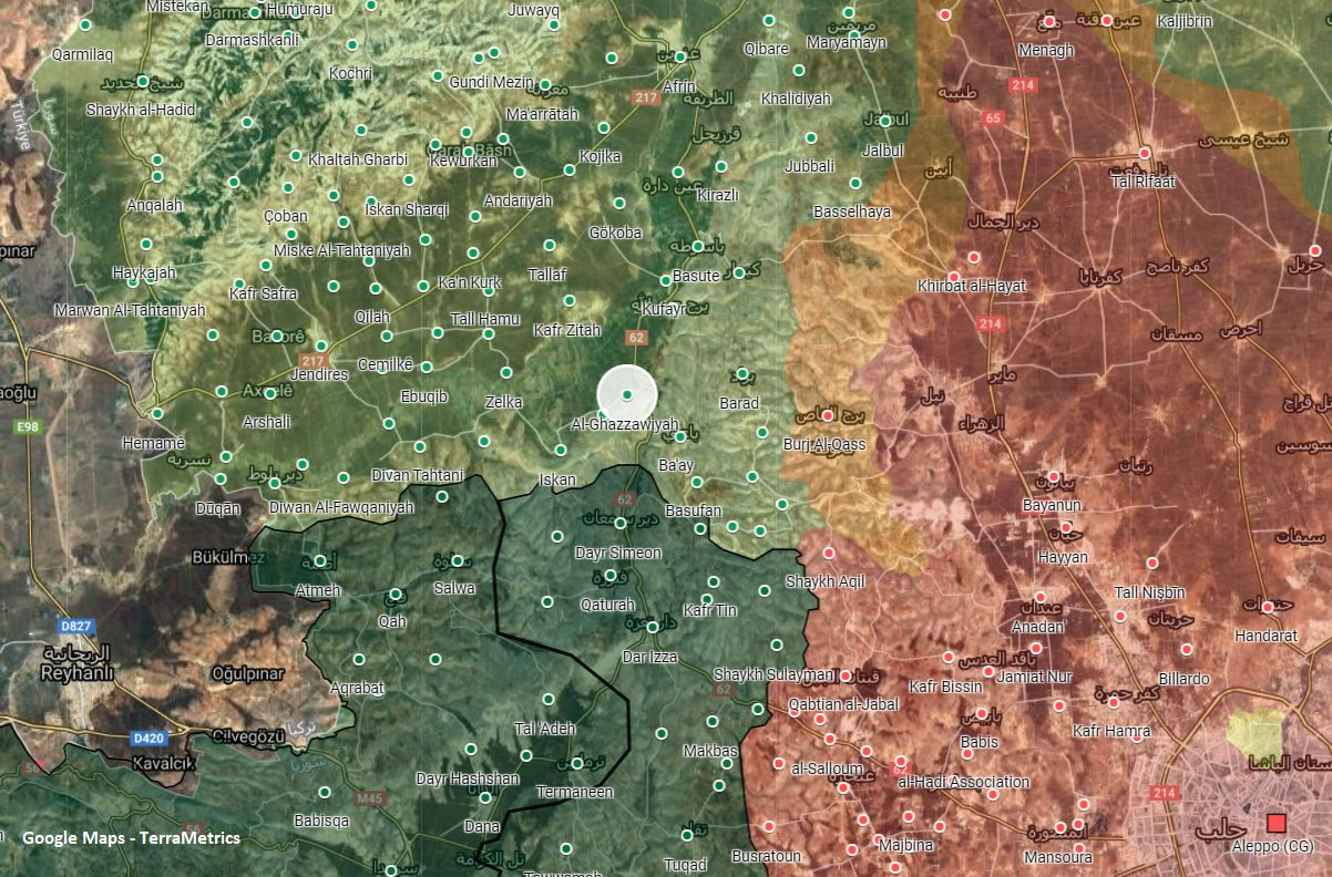 Turkish Observation Post In Western Aleppo Targeted For The Second Time In A Day
