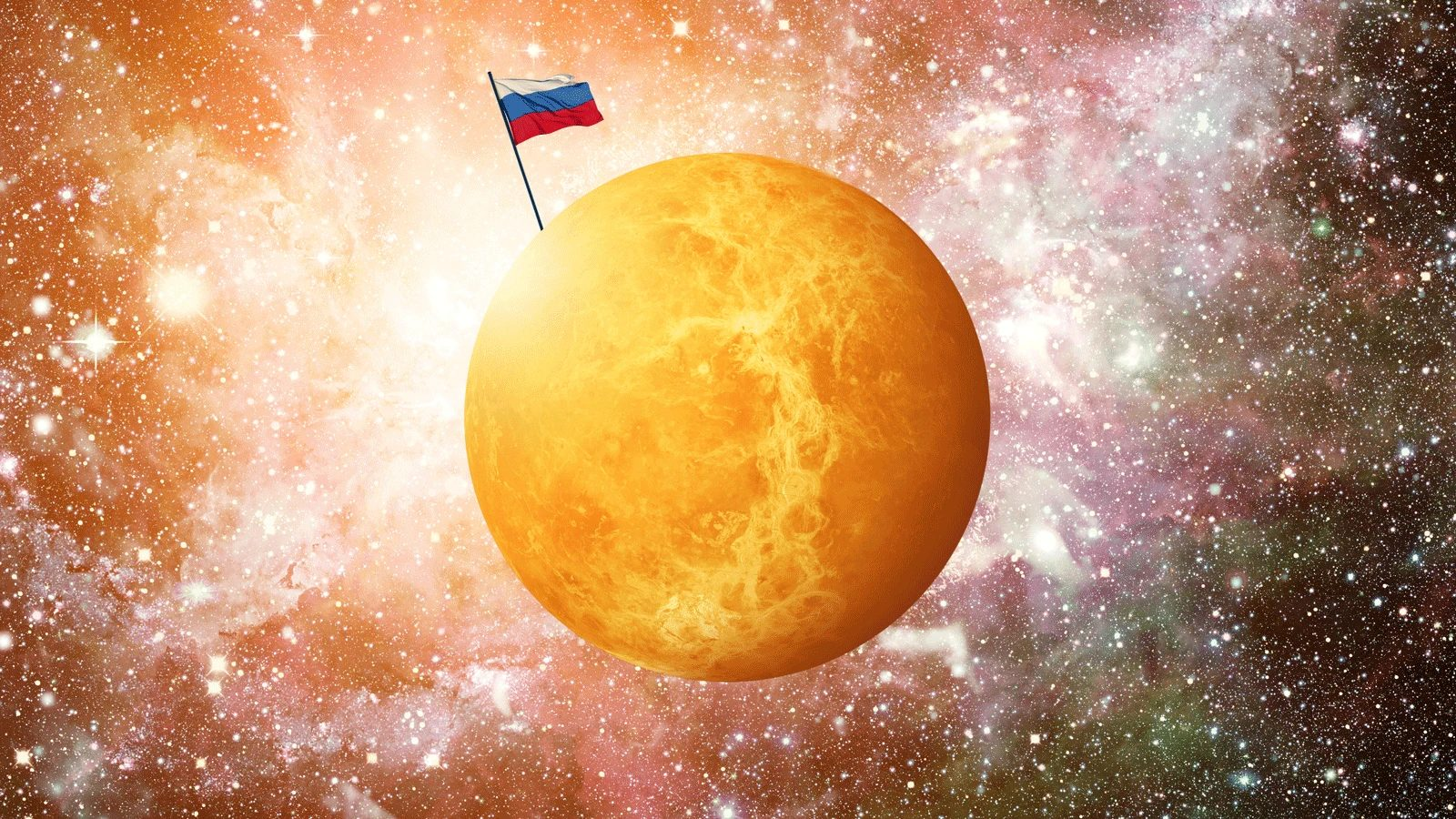 "Roskosmos' Chief Rogozin Claimed Venus As ""Russian Planet"""