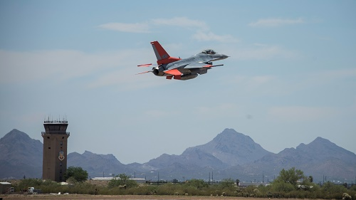 Boeing Completed First Conversion Of F-16 Fighter Jet Into QF-16 Aerial Target Drone