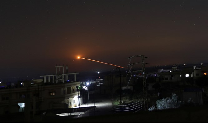 Israeli Warplanes Targeted Military Airbase In Syria's Eastern Homs