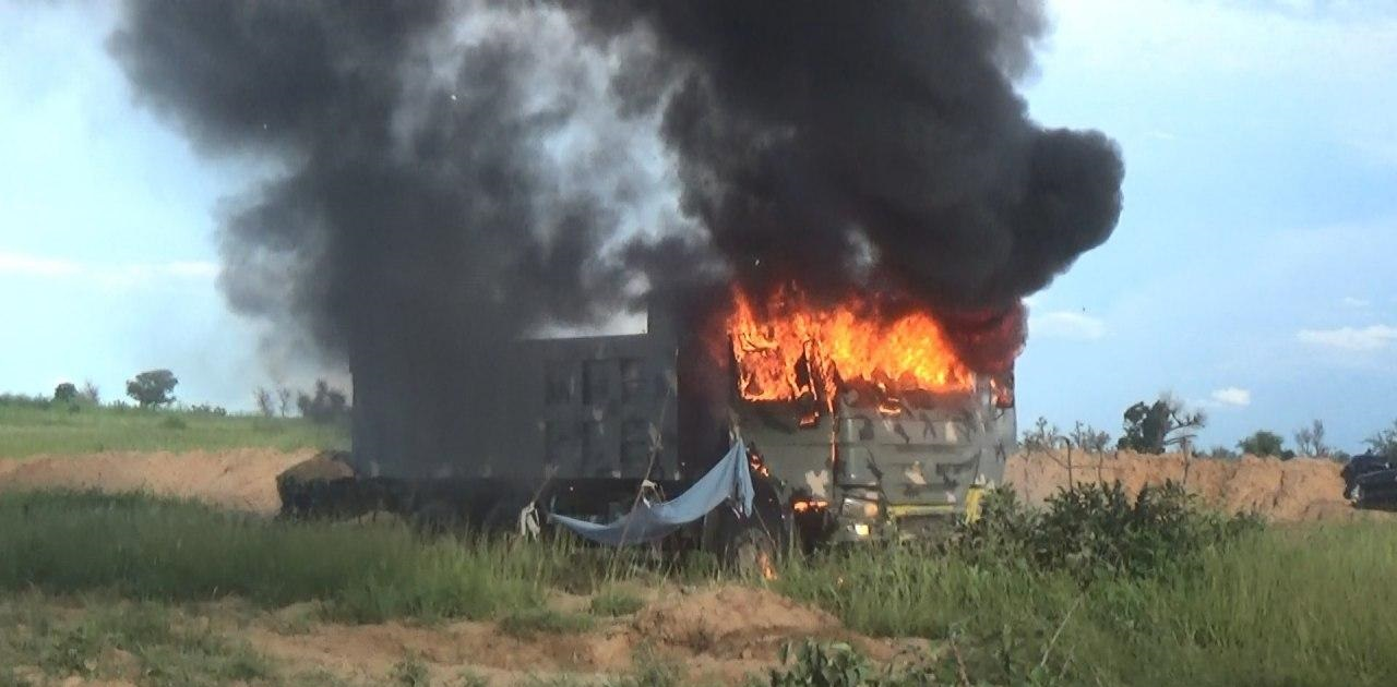 ISIS Shares Photos Of Recent Attack On Nigerian Army Base In Borno