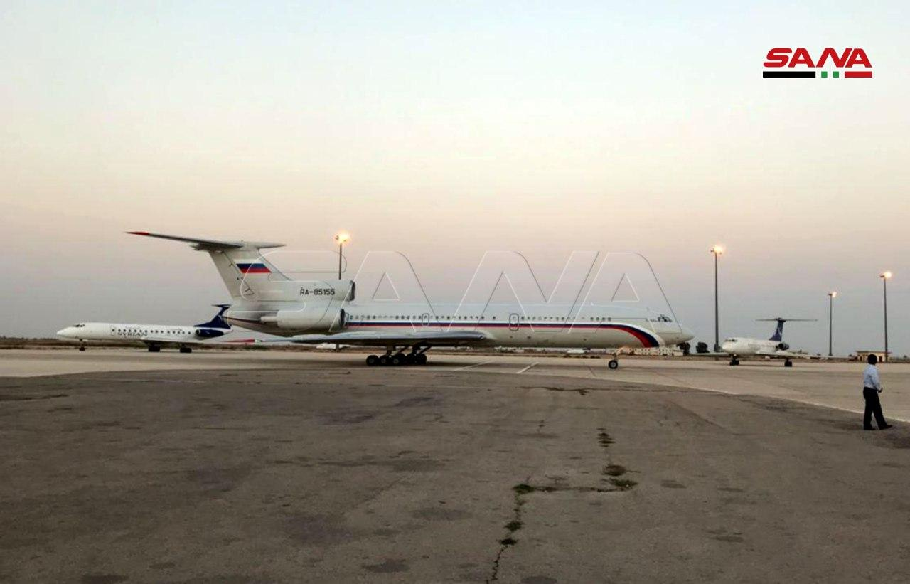 High Level Russian Government Delegation Landed In Syria's Damascus