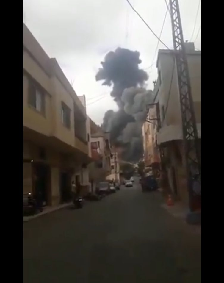 """Hezbollah Weapons Depot In South Lebanon Explodes Due To """"Technical Error"""""""