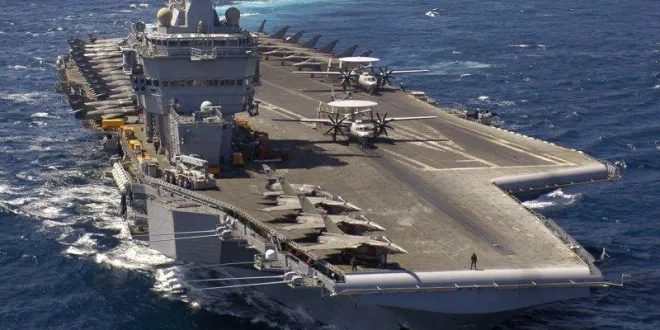 France Deploys Charles De Gaulle Aircraft Carrier To Eastern Mediterranean