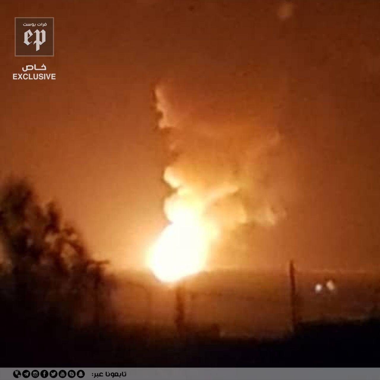 ISIS Blew Up Part Of A Gas Pipeline In Syria's Eastern Al-Shaddadi Region