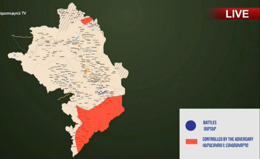Azerbaijan Claims It Assassinated Defense Minister Of Nagorno-Karabakh, While Armenia Captures Syrian Militants In Combat Zone (Videos, Map)
