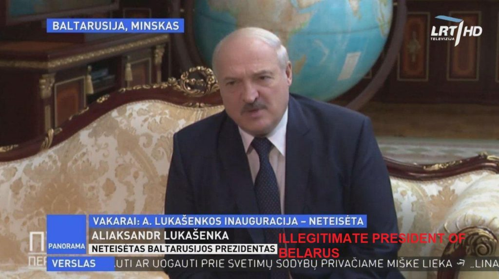Belarus State TV Started Using Soviet Names Of Lithuania, Poland And Ukraine In Response To Increasing Propaganda Pressure