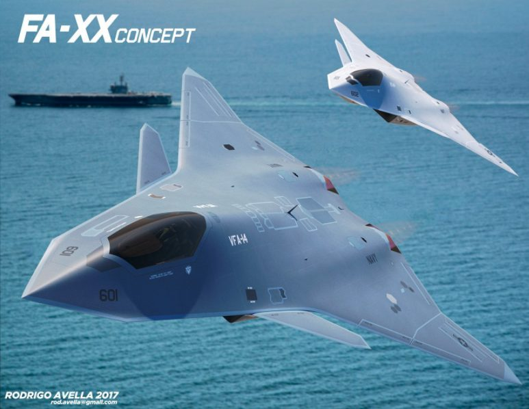 """US Air Force Reveals Six-Gen Stealth Jet Has Been """"Built And Flown"""""""