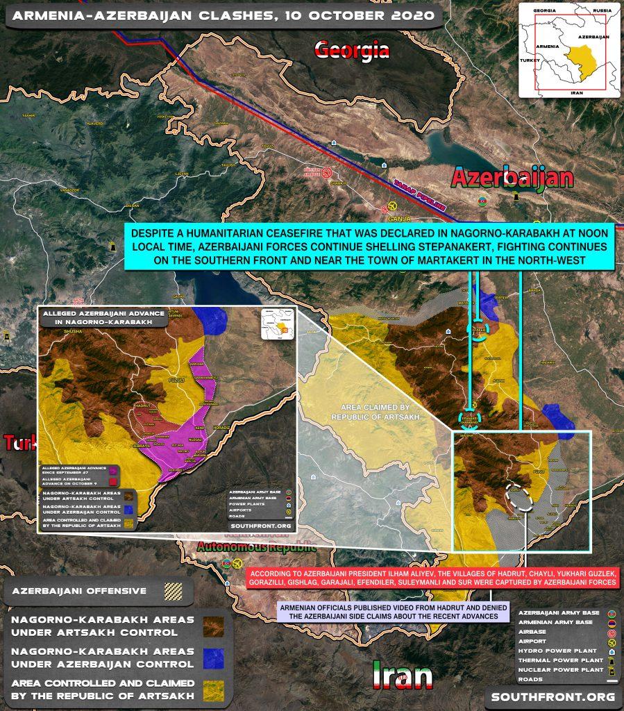 Nagorno-Karabakh Ceasefire - Brilliant Victory Of Russian Diplomacy
