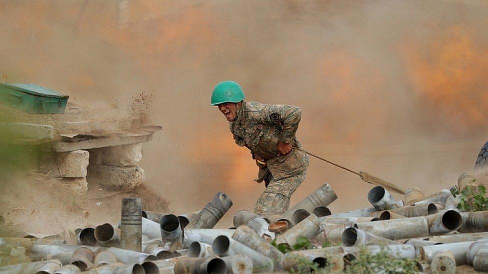 Azerbaijani Forces Made New Gains In Nagorno-Karabakh