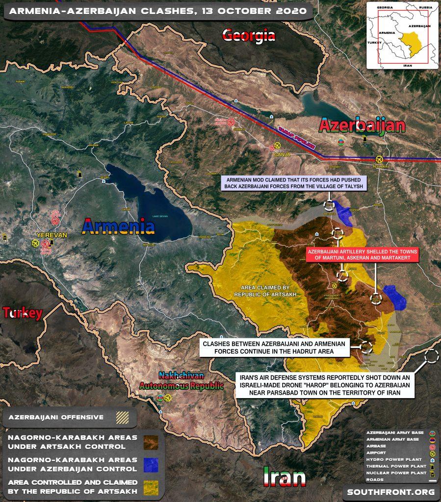 Azerbaijani Drone Shot Down Over Iran