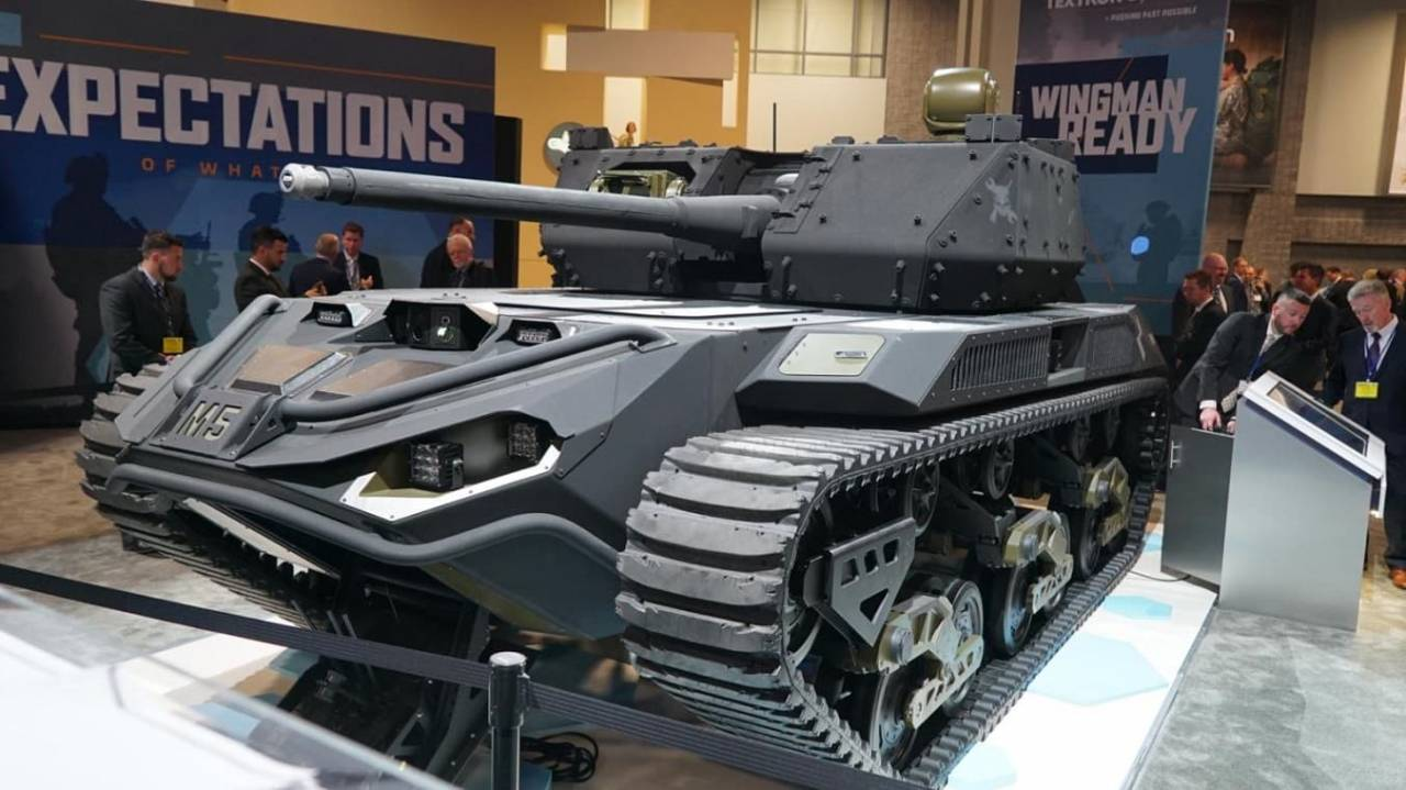E-Battle Tanks? US Army To Receive Prototype Of All-Electric M5 Ripsaw Combat Robot In 2021