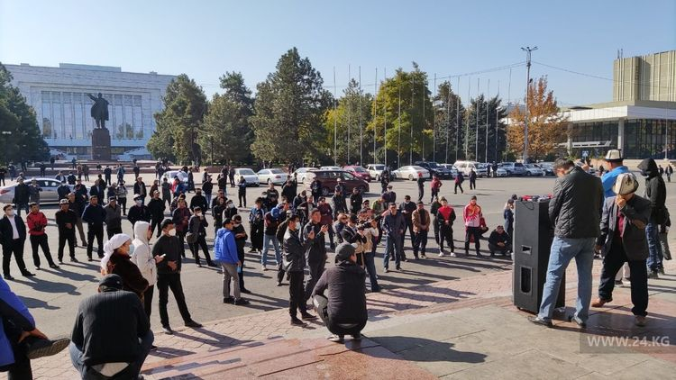 "Protests In Kyrgyzstan Continue, As President Rejects Appointment Of Prime Minister As ""Not According To Law"""