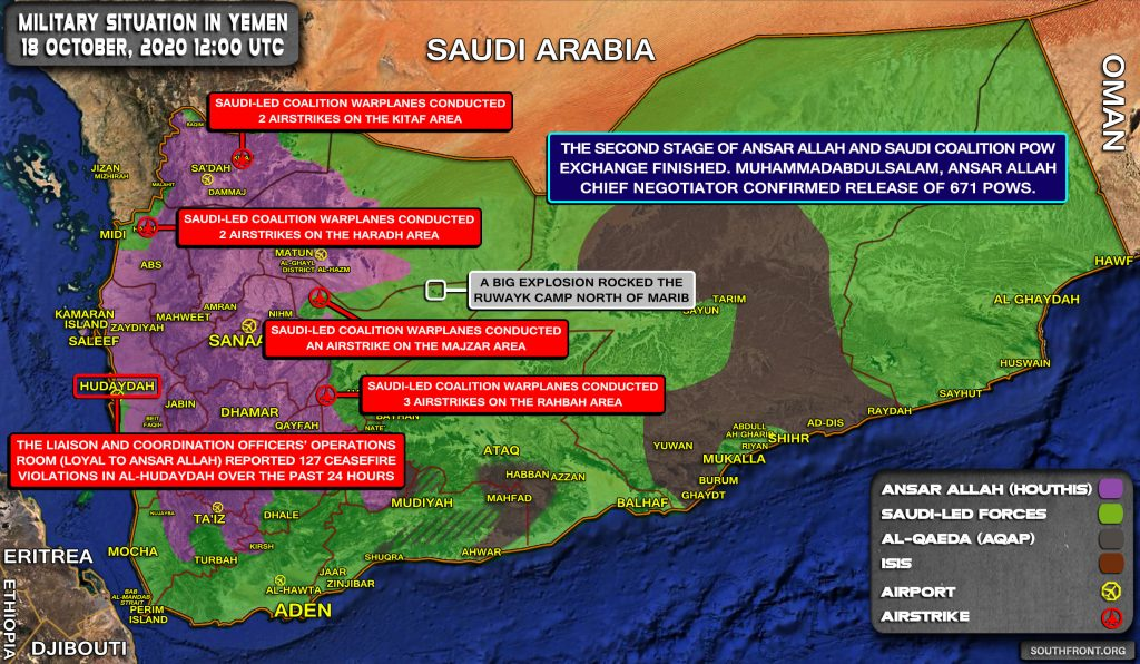 Houthis Repel Advance Of Saudi Proxies In Yemen's Sawrah Area (Video, Map)