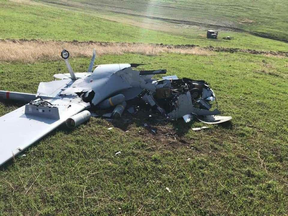 In Photos: Armenia Shows Turkish Bayraktar TB2 Drone Downed In Karabakh