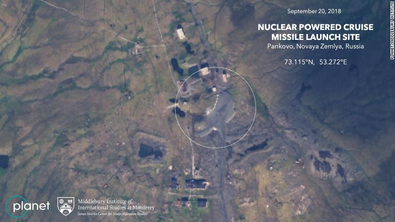 Satellite Images Suggest Russia Is Preparing Novaya Zemlya For Burevestnik Nuclear Cruise Missile Tests