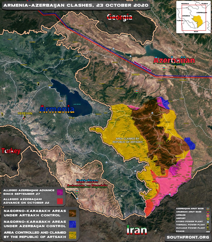 Southern Karabakh Is In Fact Lost To Azerbaijan, But Armenia Continues Denying This