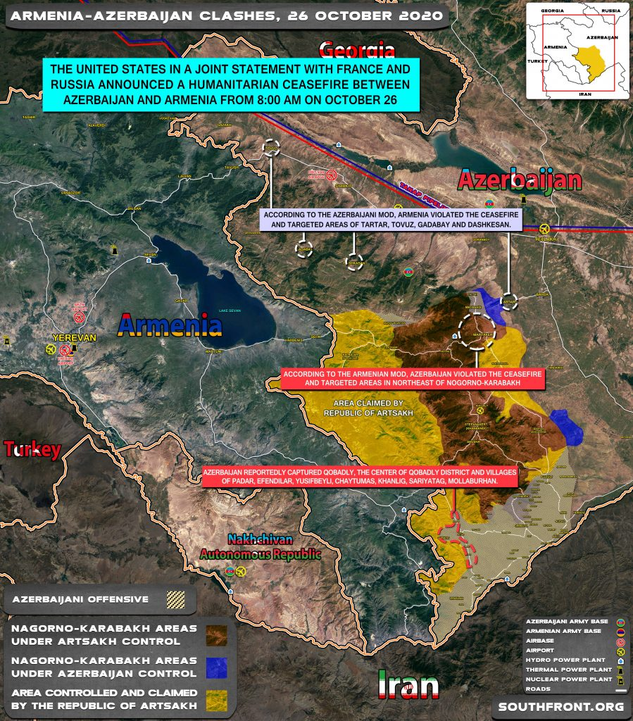 Armenia And Azerbaijan Boast Their Military Successes Amid Another Failed Ceasefire As Turkish Proxies Suffer From Russian Strikes In Syria