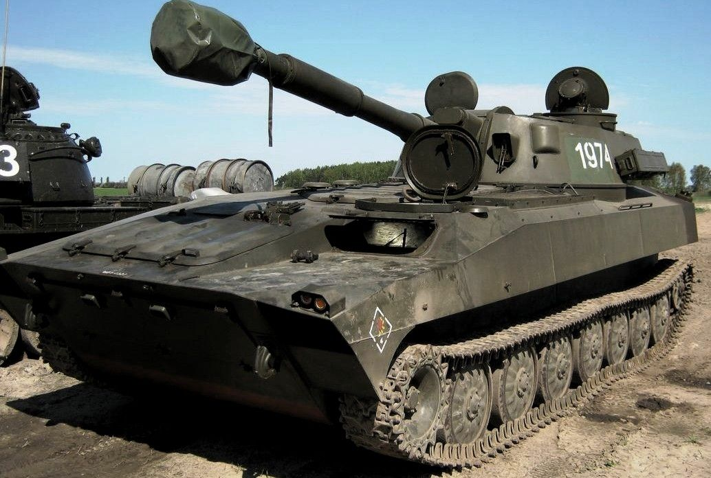 Weapons Of Karabakh War: 2S1 Gvozdika Self-Propelled Howitzer