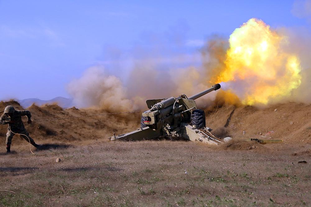 Azerbaijani Military Targeted Russian Post on Armenia's Border With Iran