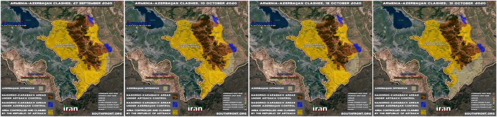 Dead Man's Hopes: Armenian Leadership Asks Russia For Help Amid Nearing Military Defeat In Nagorno-Karabakh