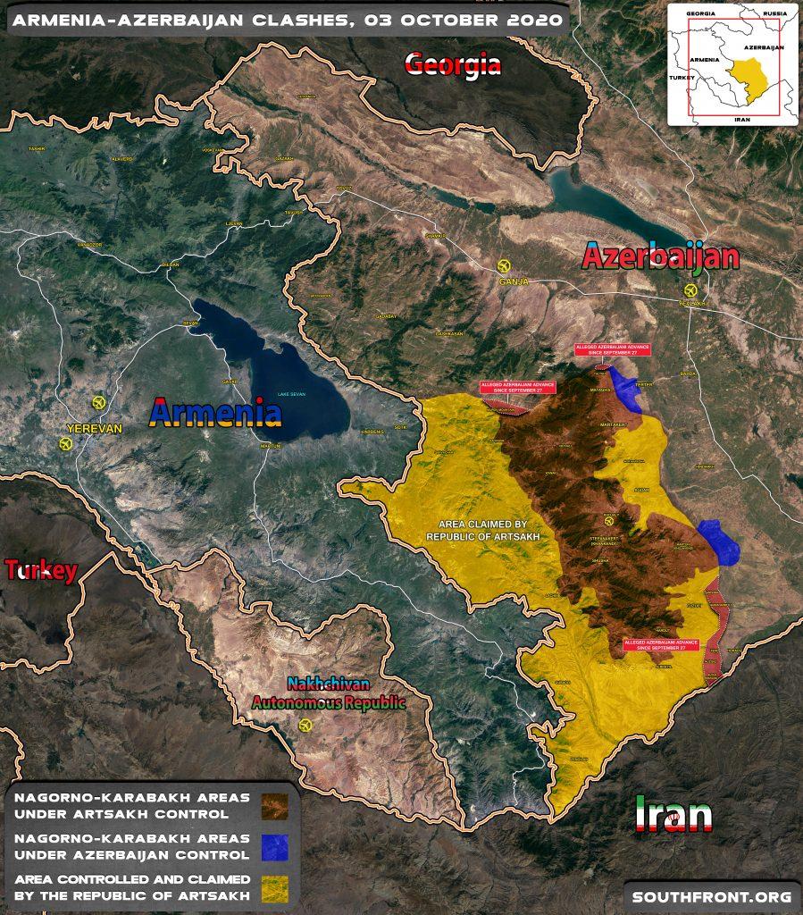 Armenian-Azerbaijani Hostilities Still Gaining Momentum After 6 Days Of War