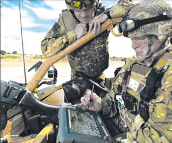 Commercial Geo-Information Technologies In Service With NATO Strategic Allied Forces