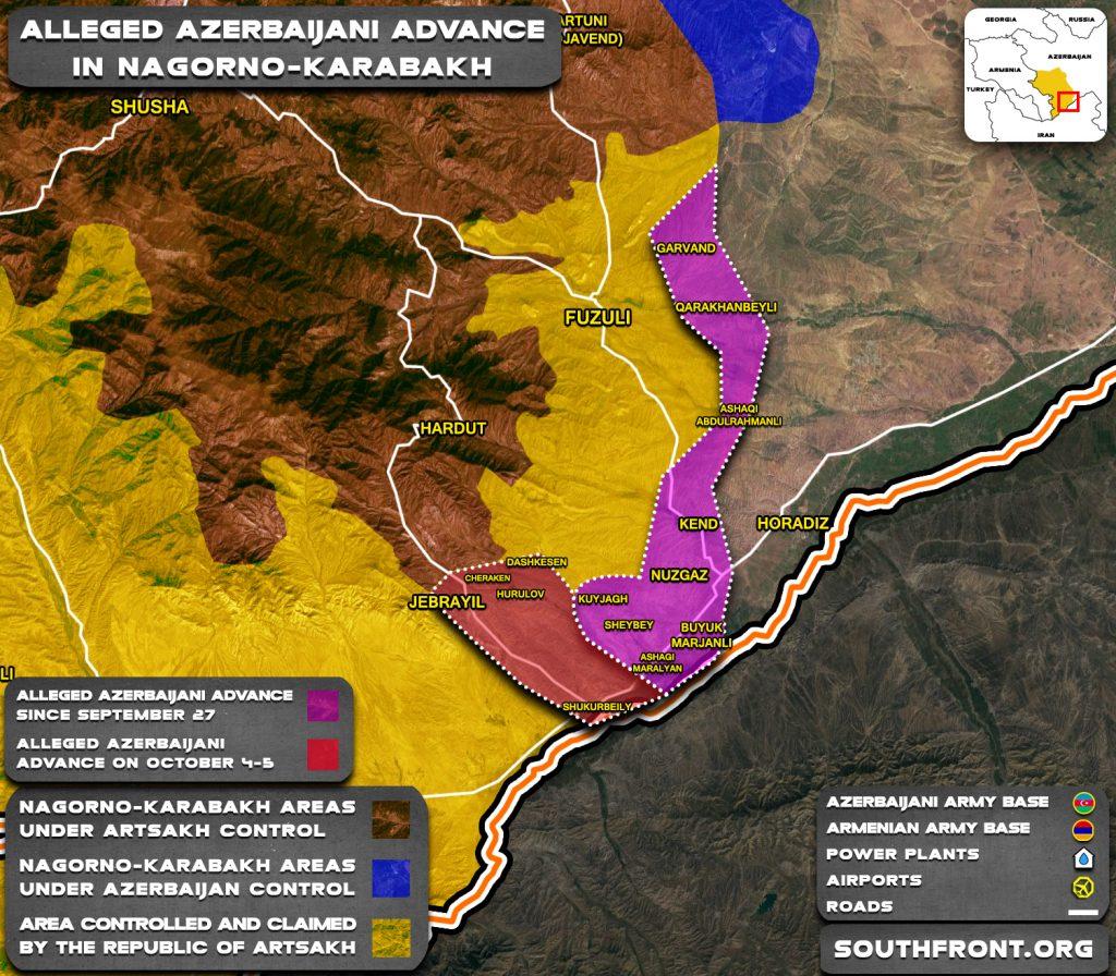 Turning Point Of Armenian-Azerbaijani War
